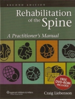 rehabilitation of the spine book cover